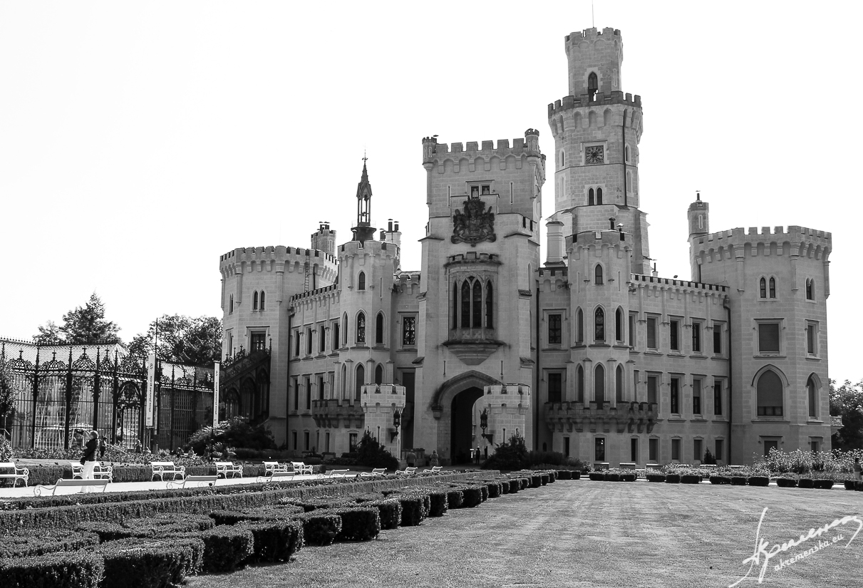 Hluboka Castle, Czech Republik