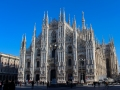 Milan, the Duomo